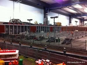 Neubau der Hochbahn Werkstatt im Hamburg Abschnitt.