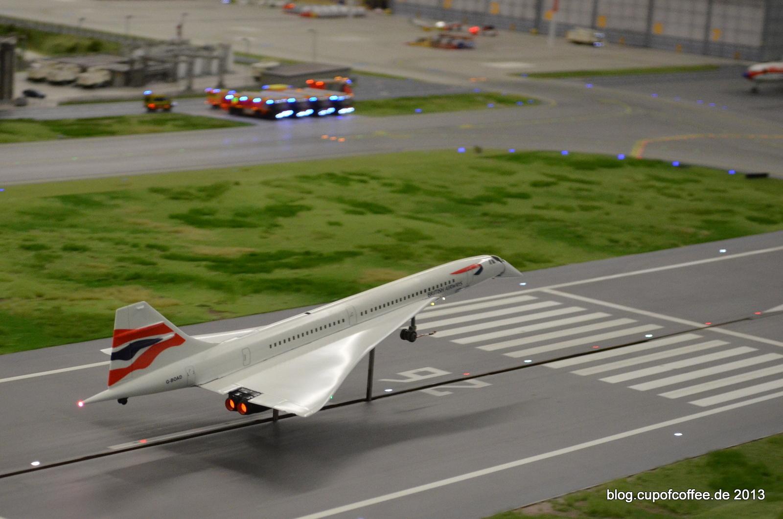 Schlank, elegant und laut: Schön, dass es die Concorde in die MiWuLa-Flotte geschafft hat.