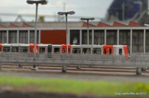 Der DT5 Hamburgs neuester U-Bahn Zug.