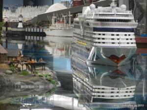 30.000 Liter Wasser und ein großes Schiff.