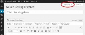 01_Wordpress_Optionen