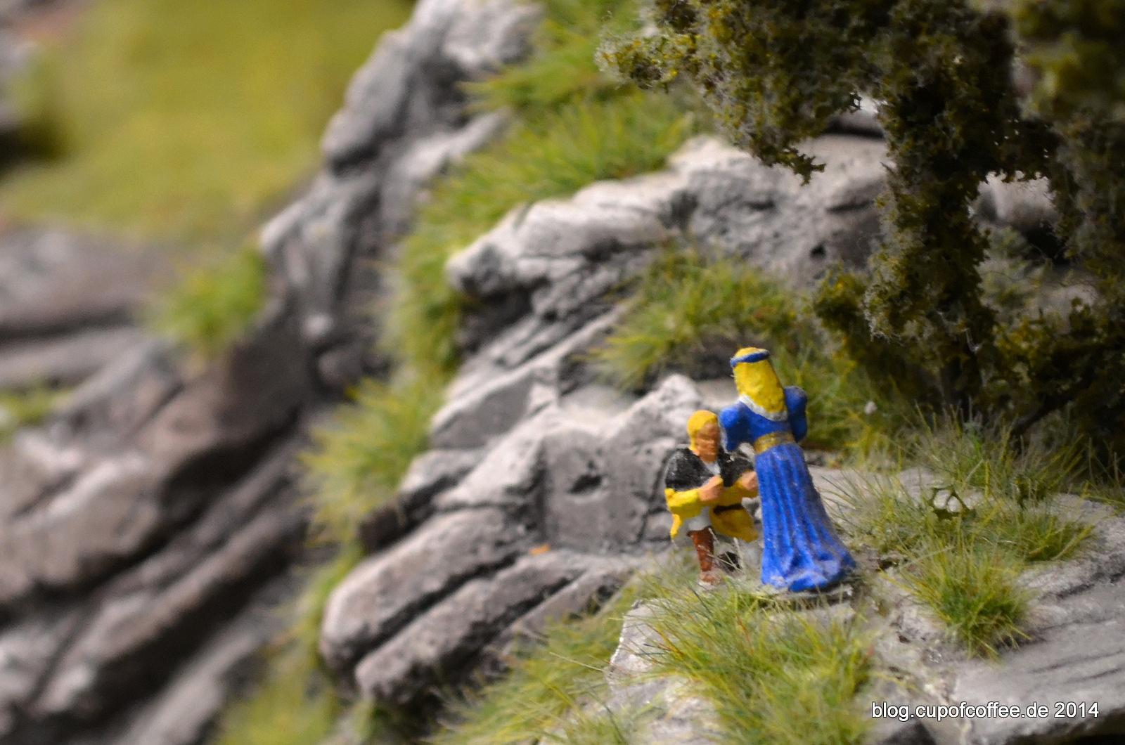 Wundersame Gestalten tummeln sich im Wunderland reichlich.
