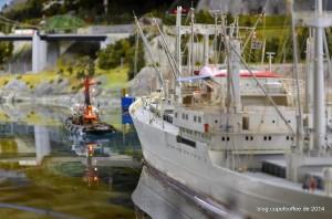 Zwei Schiffe, die gut zueinander passen. »Hafengeburtstag 2014