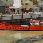 42 Bega Feuerwehrschiff Miniatur Wunderland