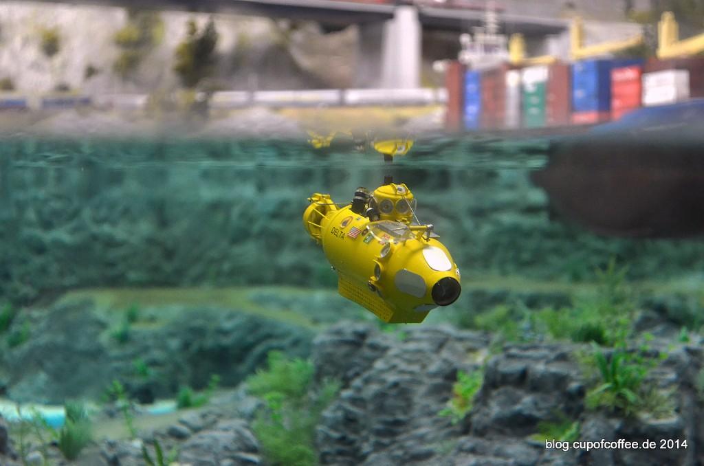 60 U-Boot Miniatur Wunderland