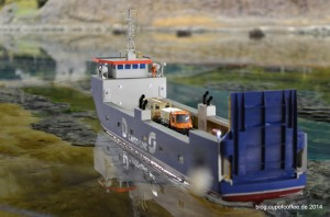 Jordsand transportiert wertvolle Fracht. MFM 2014