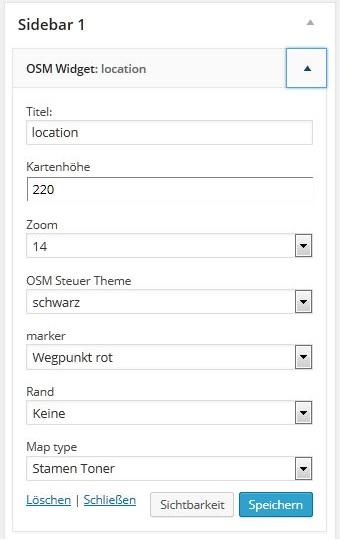 OSM_Widget