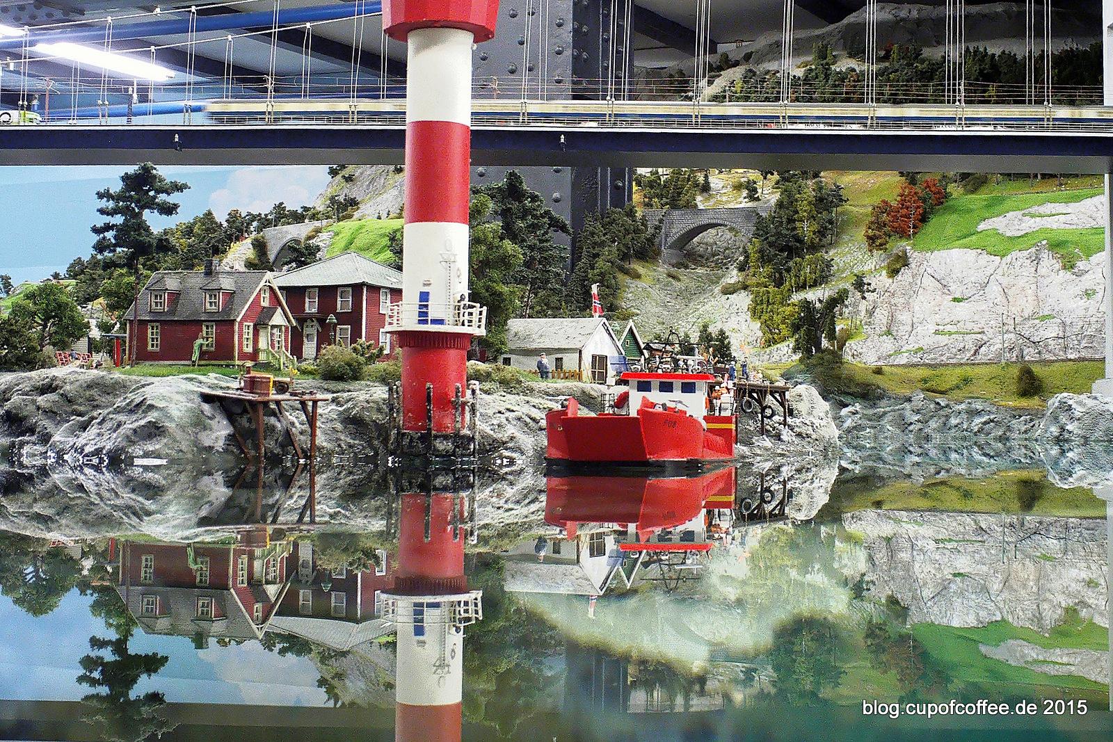 """Als natürliches Hindernis liegt """"die Insel"""" mit dem malerischen Fischerdorf zwischen den Häfen von Padborg und Bergvik."""