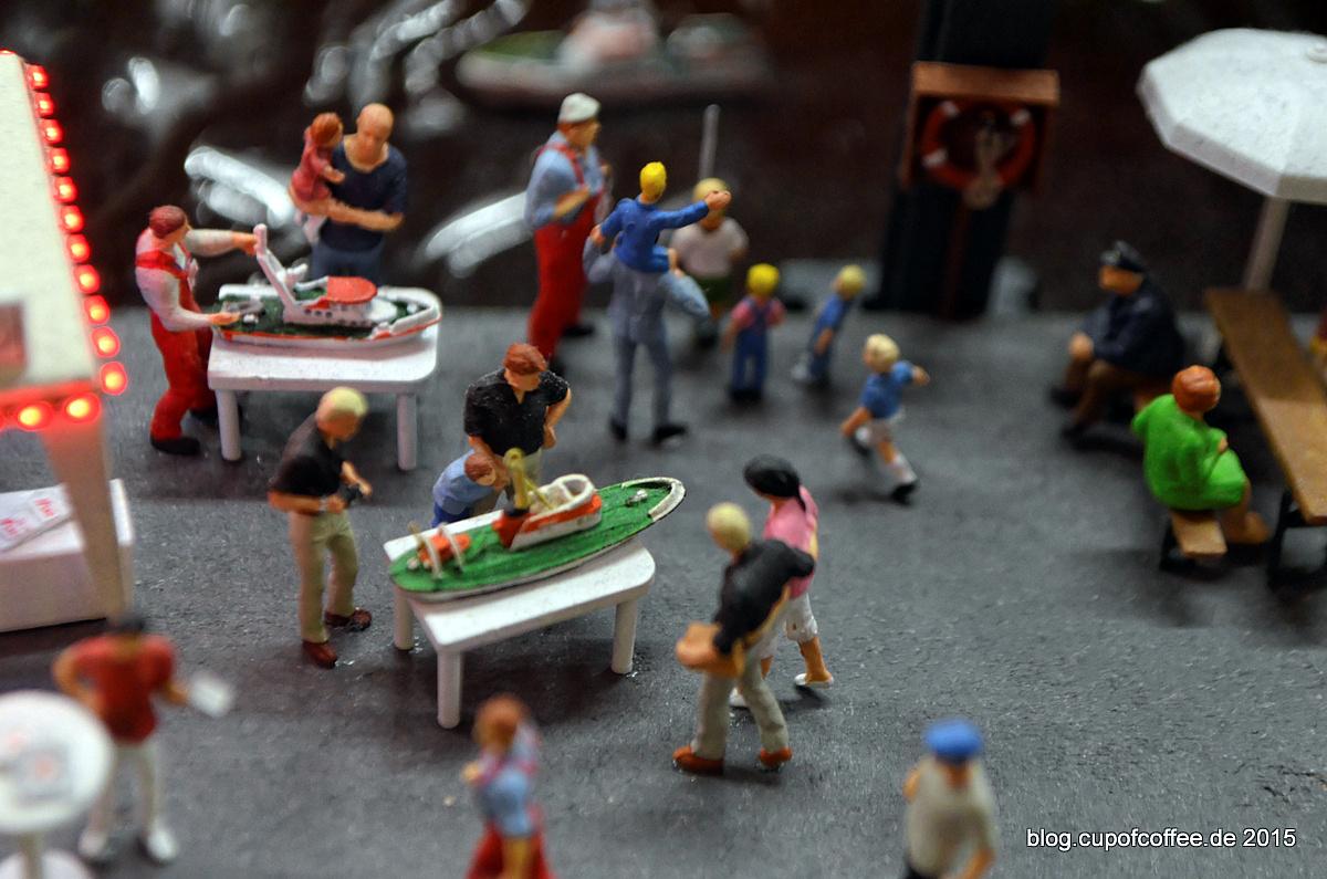 Miniatur-Seenotrettungskreuzer Modell Modelle.