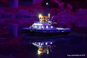 Schlepper Fairplay III - Probefahrt auf der Nordostsee