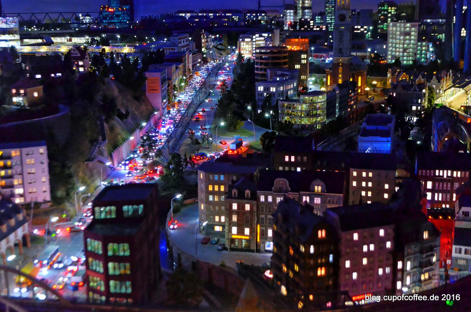 Feierabendverkehr im Hamburg Abschnitt