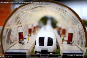 Transrapid im Miniatur Wunderland