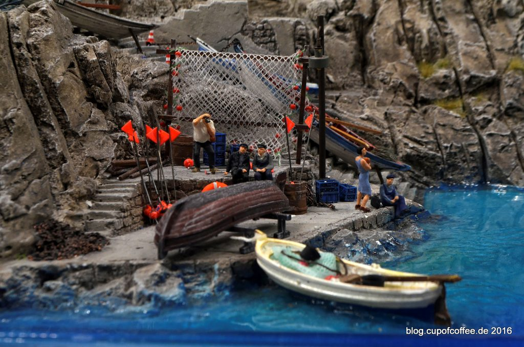 Fischer in Riomaggiore - Miniatur Wunderland Oktober 2016