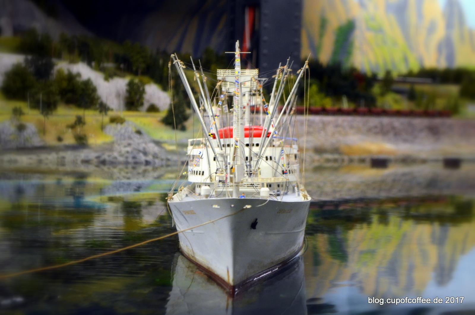 Hafengeburtstag 2017 Cap San Diego geflaggt