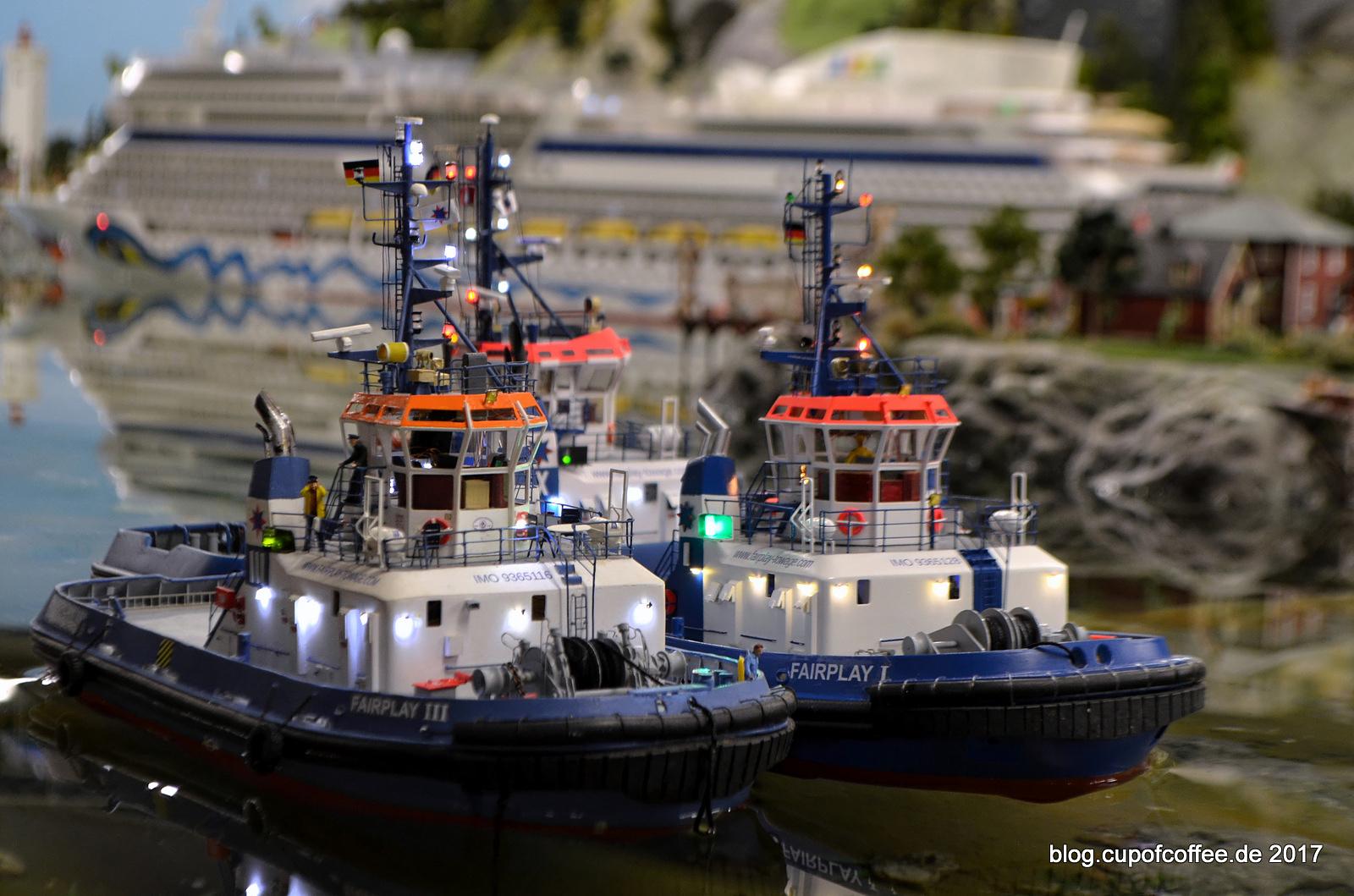 Hafengeburtstag 2017 Cap San Diego FAIRPLAY I, III, X