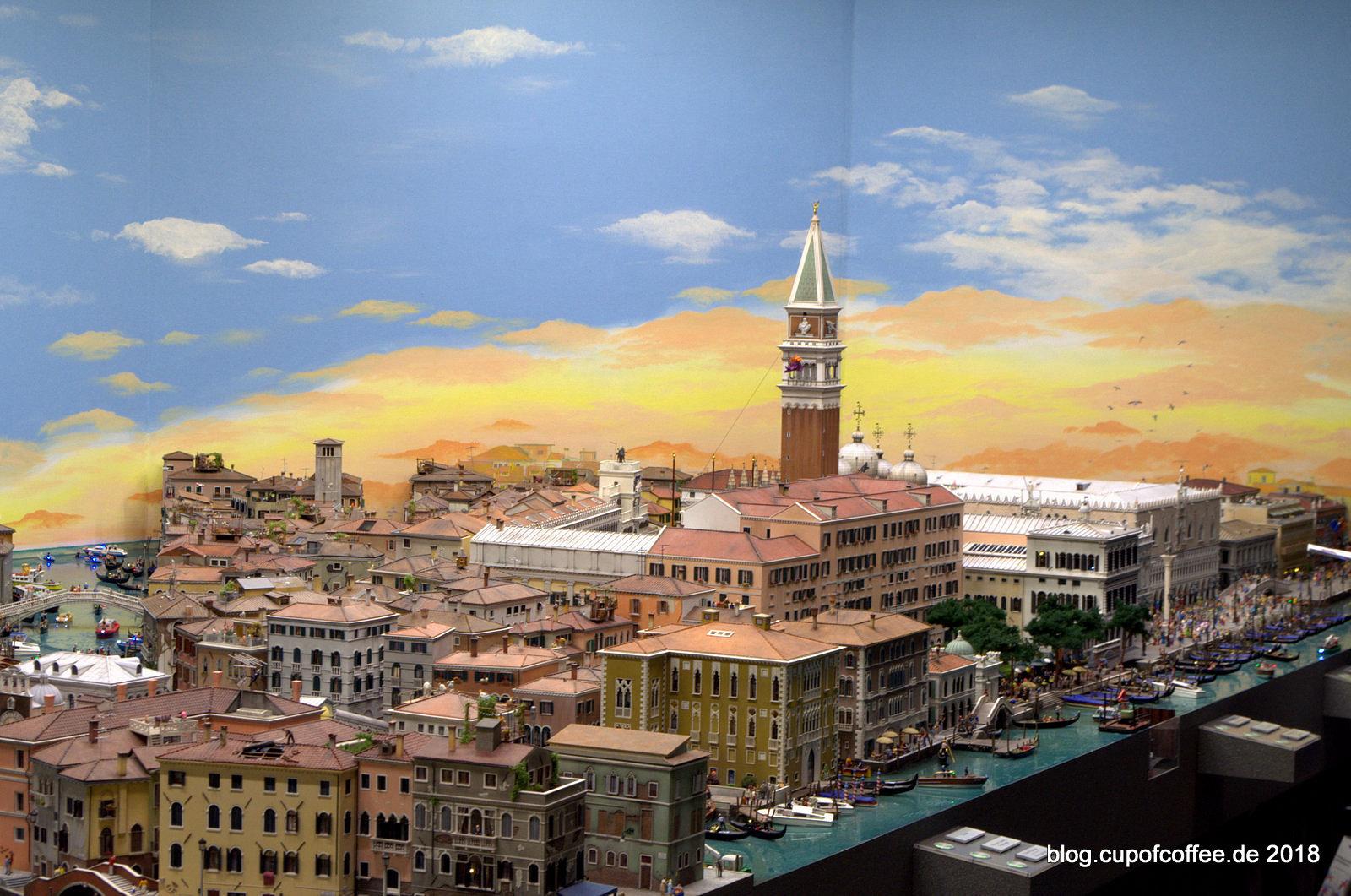 Willkommen in Venedig, der neusten Miniaturwelt des Wunderlandes