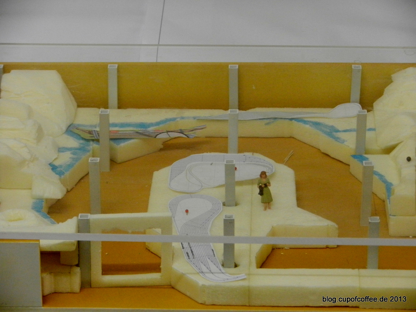 Dieses Probemodell vermittelt einen ersten Eindruck vom Italien-Abschnitt.