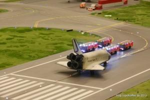 Wheels stopped. Einsatz für die Airport Feuerwehr.
