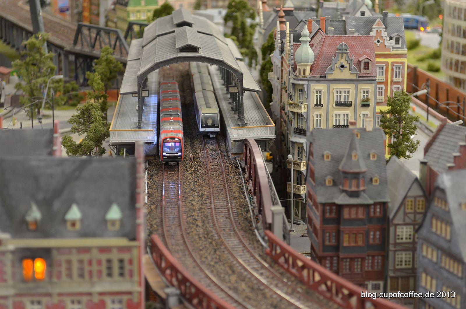 DT5 und DT4 gemeinsam in der Station, ein schöner Anblick.