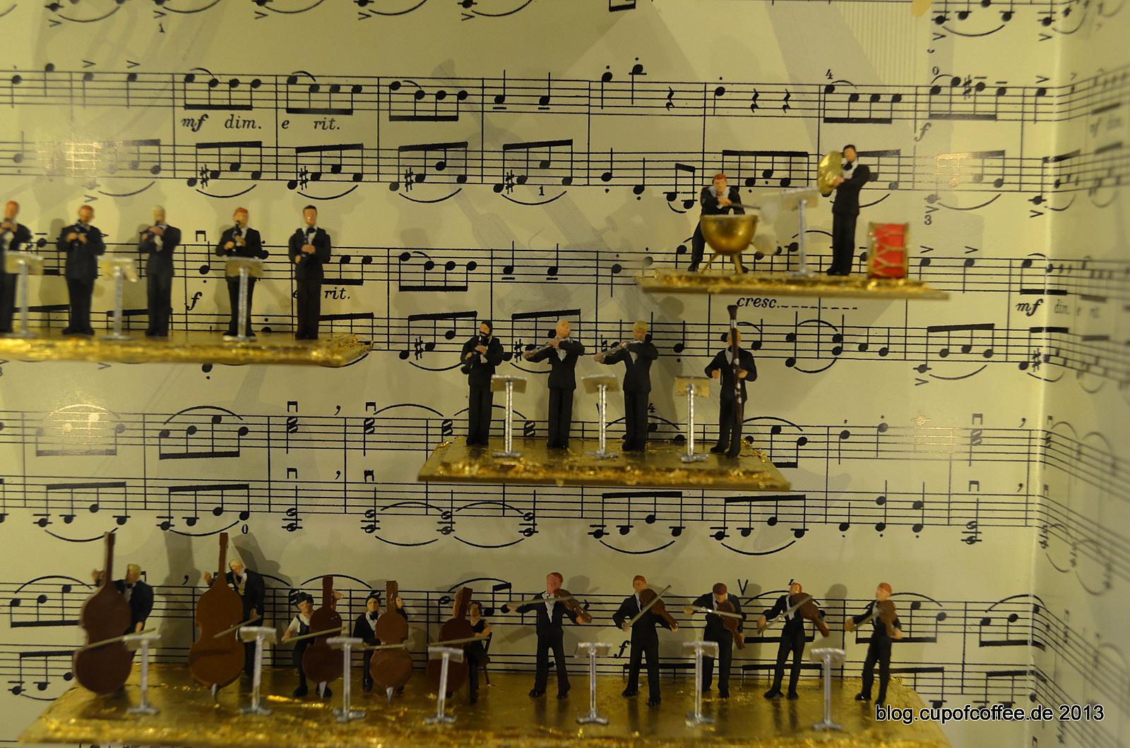 Die hier proben allerdings nicht in der Philharmonie.