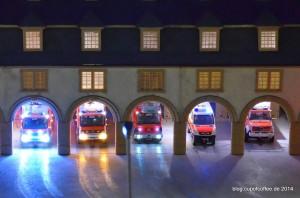 Die Knuffinger Feuerwehr ist immer im Einsatz.