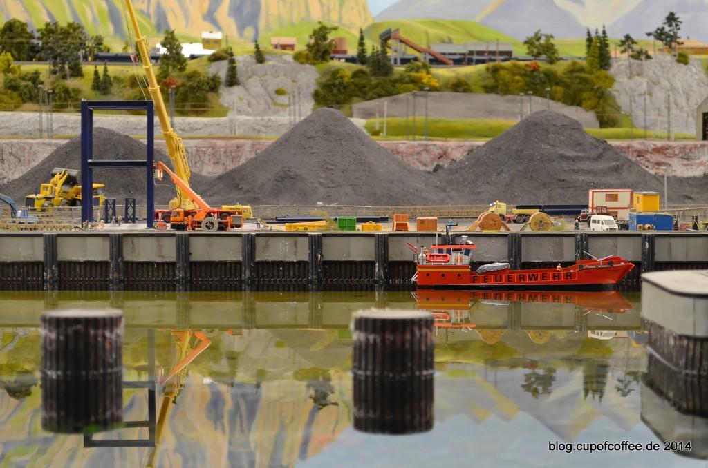 40 Bega Feuerwehrschiff Miniatur Wunderland