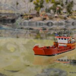 41 Bega Feuerwehrschiff Miniatur Wunderland