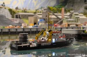 In der Hafeneinfahrt von Bervik. MFM 2014