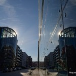 16 Spiegelung Doppel-X-Hochhaus Hamburg