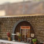25 Miniatur Wunderland Italien Baustelle Scarpas Bistro