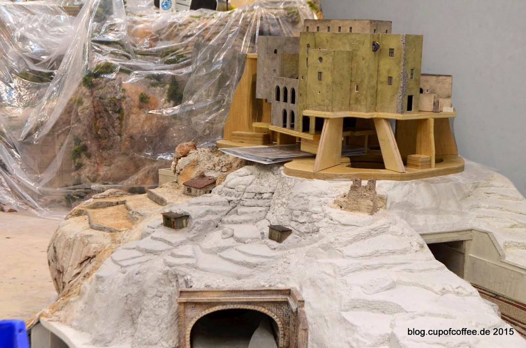26 Miniatur Wunderland Italien Baustelle Castello Arragonese