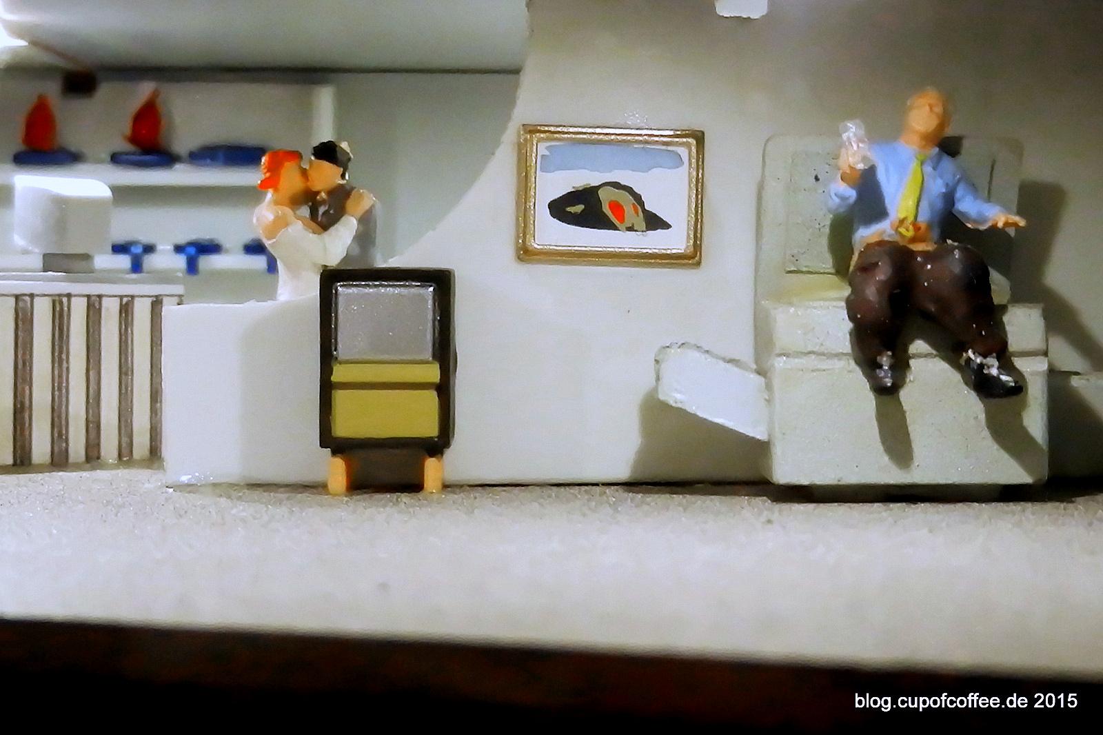 Schon Herr Stromberg wusste, nirgendwo ist es so schön, wie im Büro. Das gilt auch in der Miniatur Hafencity.