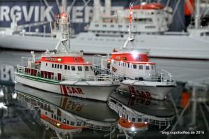 Die Seenotrettungskreuzer der DGzRS 27,5-Meter-Klasse wurden ab 1985 in Dienst gestellt.