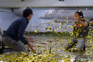 Making-of - Facebook Live Video vom Knuffingen Airport im Miniatur Wu
