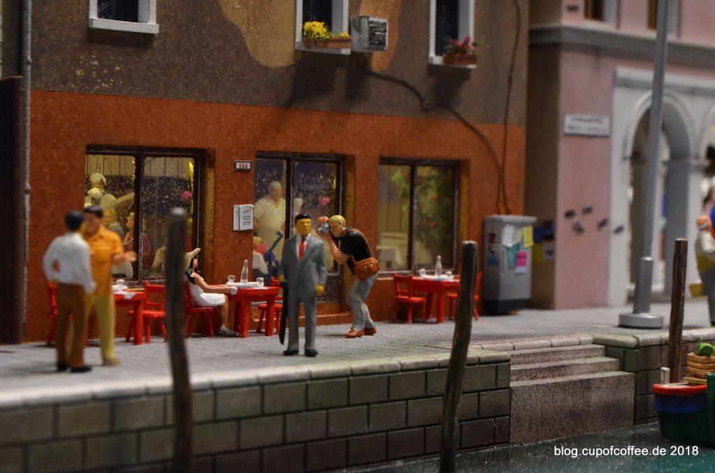 Cafés und Restaurants...