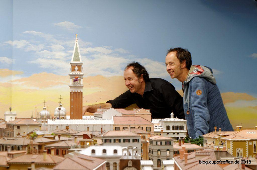 Frederik und Gerrit eröffnen Venedig 2.0