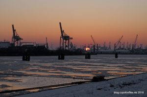 Norderelbe Hafen Hamburg