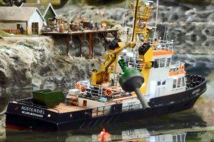 Fahrwassertonnen auf der Nordostsee