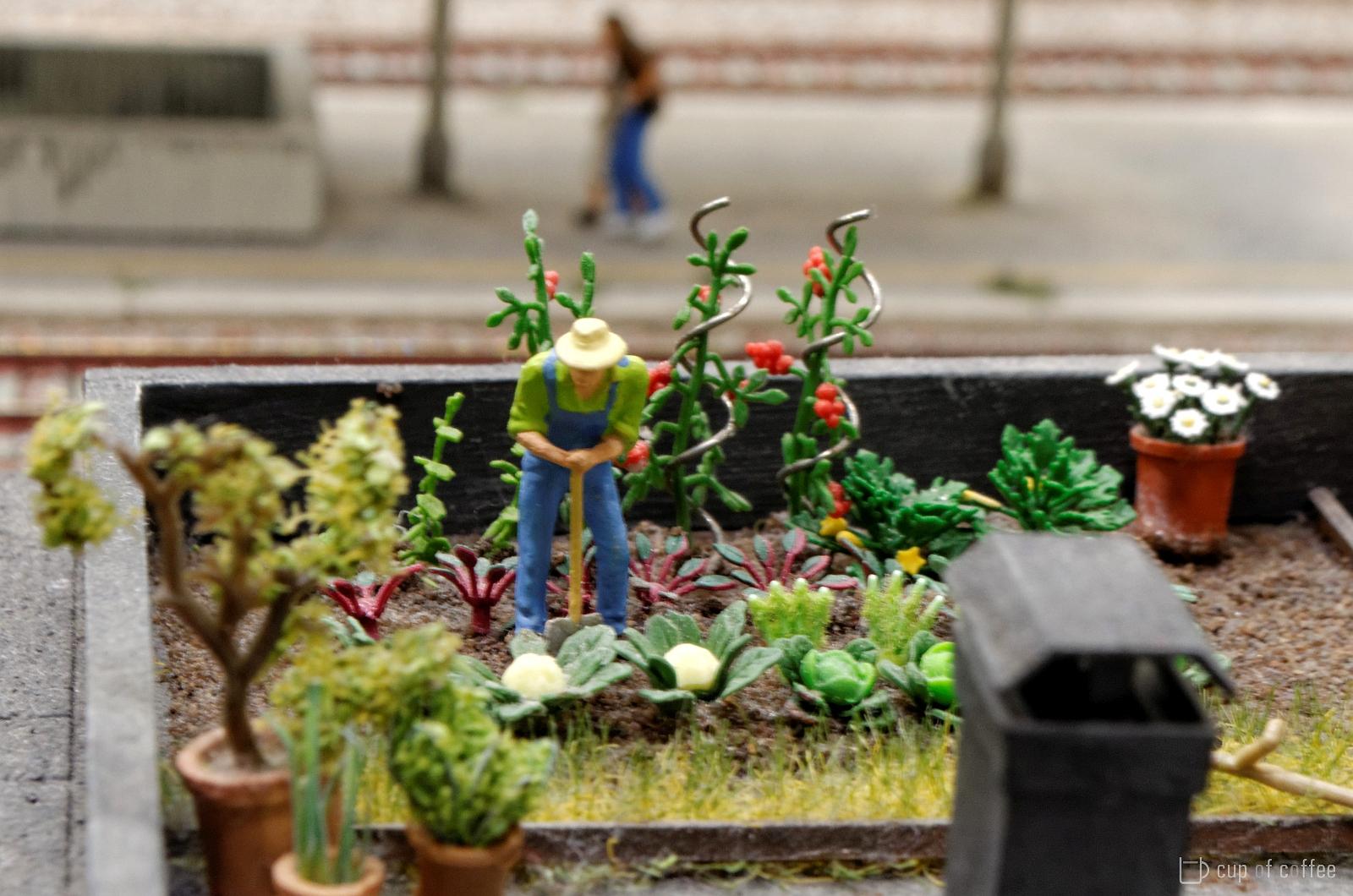 Miniatur Garten
